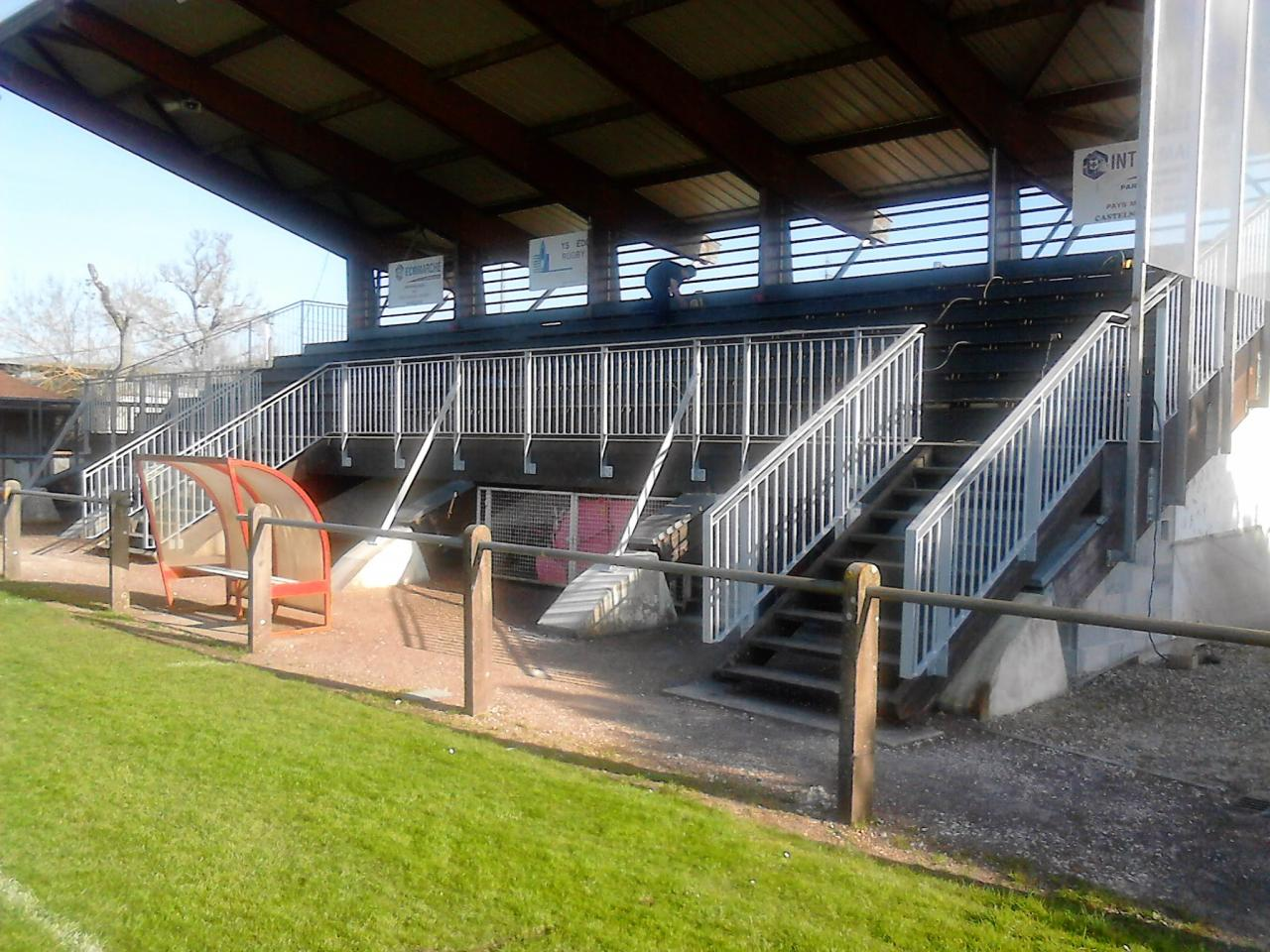 rampes et garde corps stade pauillac